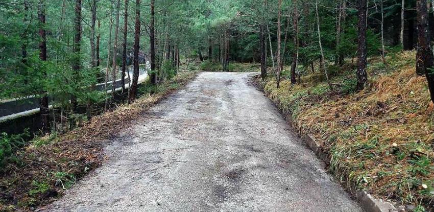 Očišćena i uređena staza od Vidikovca do Prvog šumara
