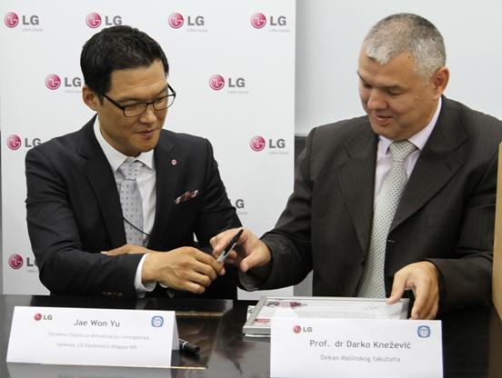Kompanija LG podržava obrazovanje mašinskih inženjera u Banja Luci