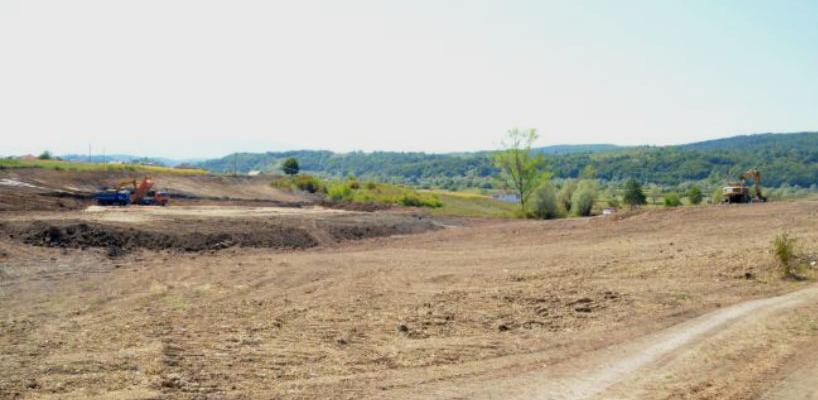Na mjestu nekadašnjeg rudnika u Tršcu gradi se sportski kompleks