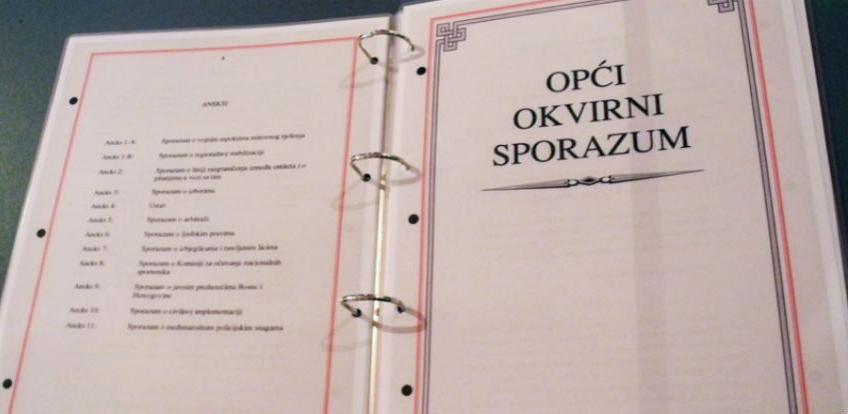 Original Dejtonskog sporazuma pronađen kod bivšeg vozača Dragana Kalinića