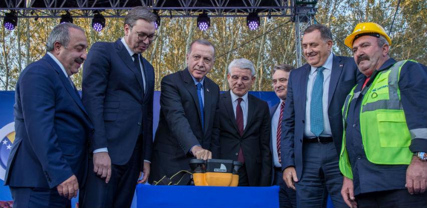 Položen kamen temeljac za izgradnju auto-ceste Beograd - Sarajevo
