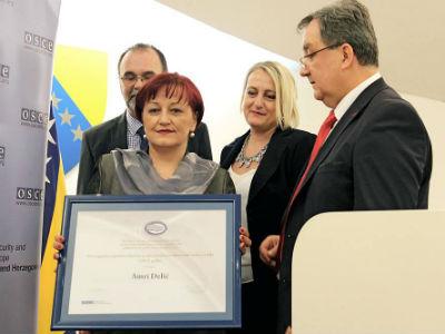 Amra Delić, prvakinja rodne ravnopravnosti u BiH u 2014.