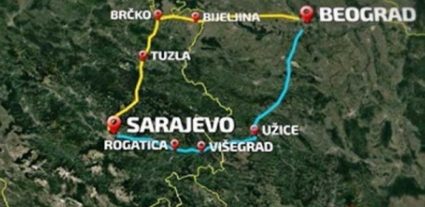 Dio autoputa Beograd - Sarajevo bit će gotov do 2022.