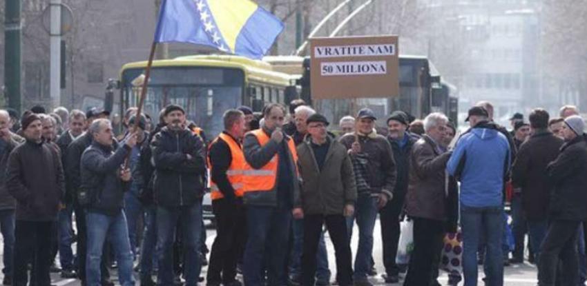 Kazne za organizovanje februarskog protesta u Sarajevu