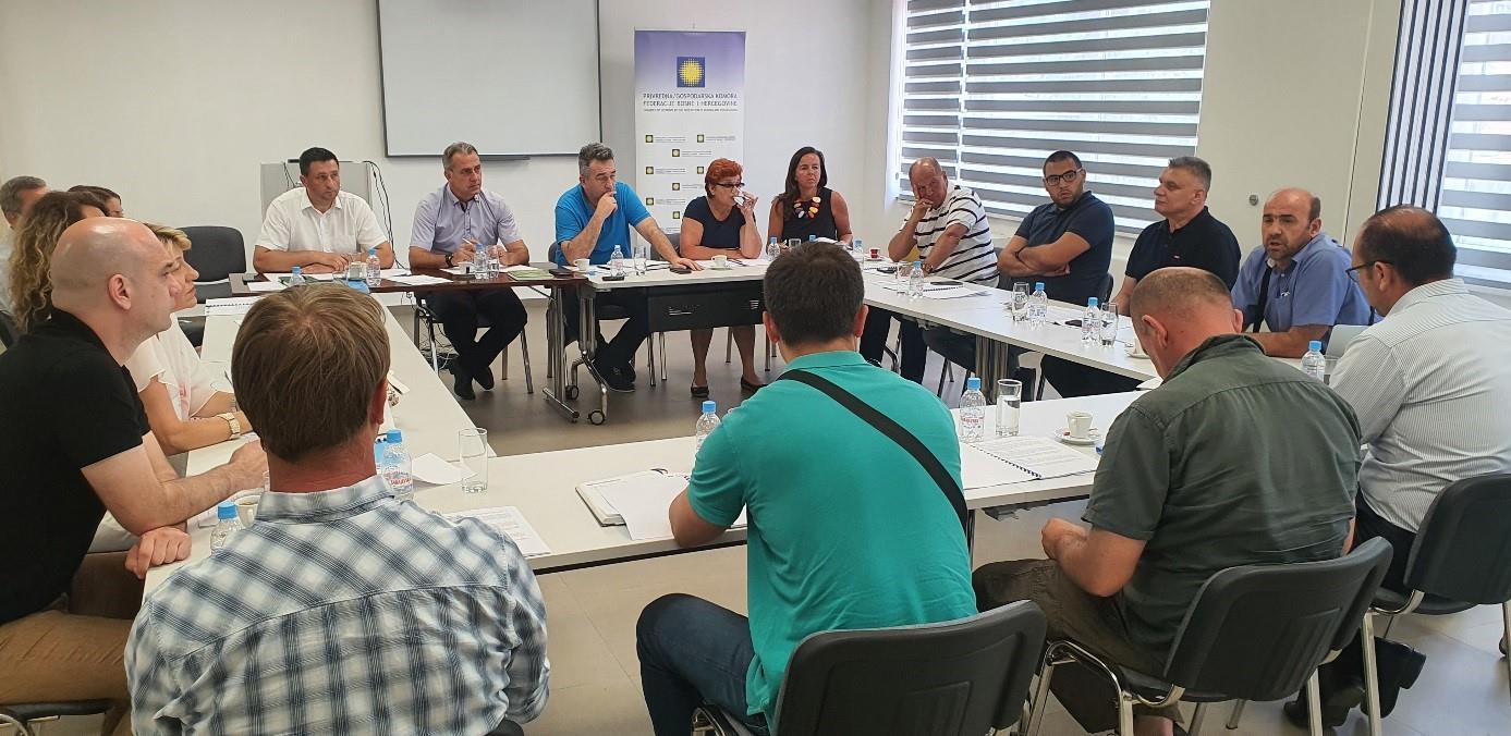 Odbor Inžinjerske komore FBiH razmatrao stanje inžinjerske struke