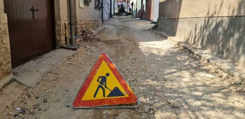 Nastavljen projekat sanacije Tepebašine ulice