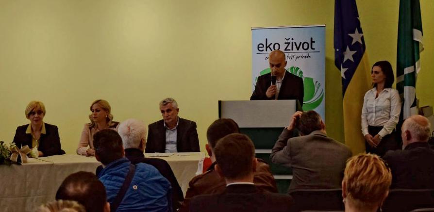 """Treća godišnjica od formiranja društva """"Eko život"""" jučer je svečano obilježena u Tuzli."""