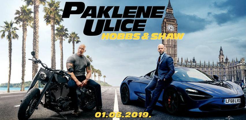 "Fast & Furious: Hobbs i Shaw na programu Multiplexa ""Ekran"" Zenica"