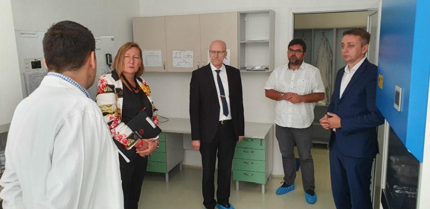 Predsjednik uprave AS Holdinga Rusmir Hrvić u posjeti INZ-u