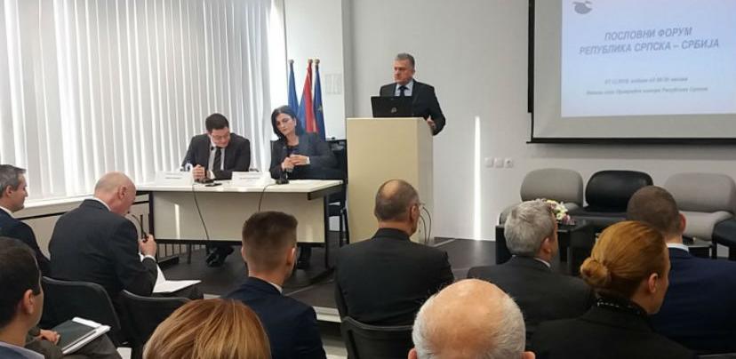 Vanjskotrgovinska razmjena RS-a i Srbije 900 miliona KM