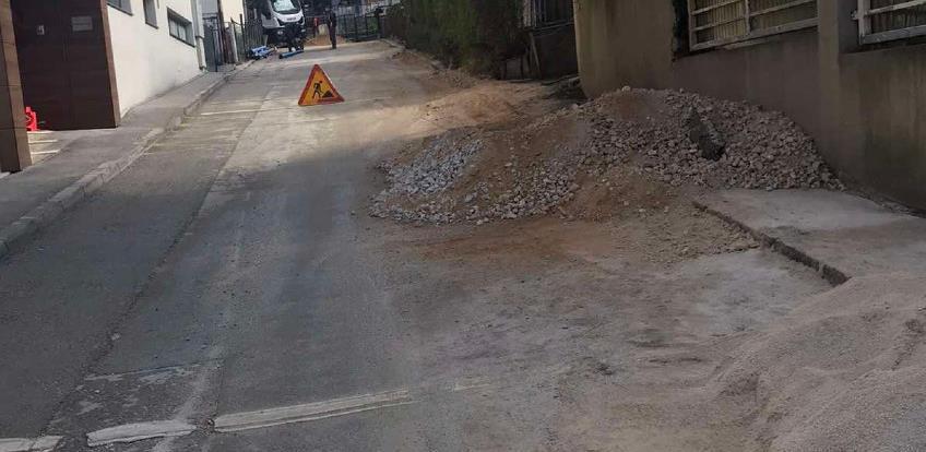 Nastavak radova na rekonstrukciji vodovodne mreže u ulici Kupreška