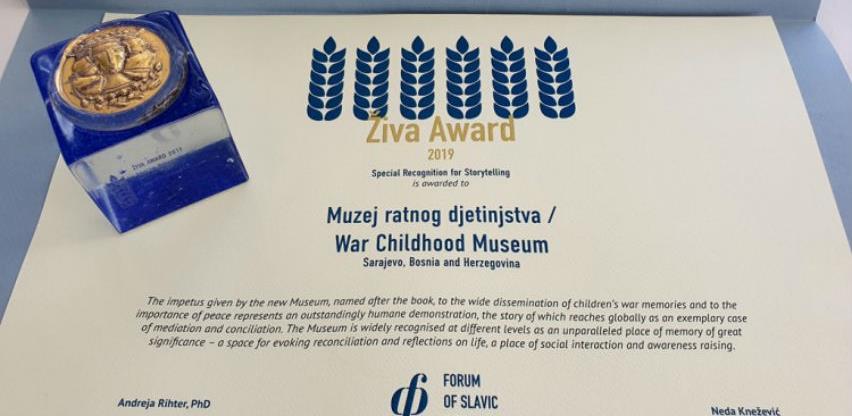 Muzeju ratnog djetinjstva priznanje na izboru za najbolji slavenski muzej