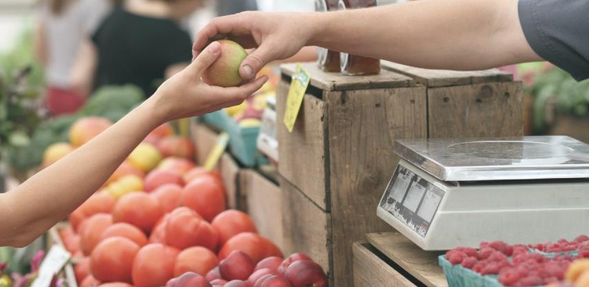 U januaru zabilježen pad prodaje na zelenim pijacama u RS
