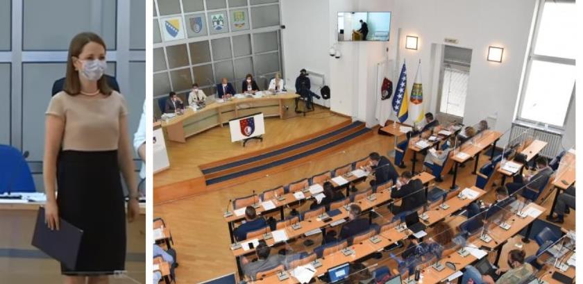 Skupština KS jednoglasno donijela Zakon o ministarstvima i drugim organima uprave