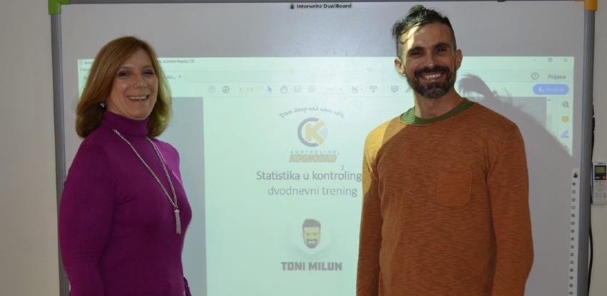 Edukacija u Kontroling centru Kognosko: Najbolje od statistike u Kontrolingu by Toni Milun