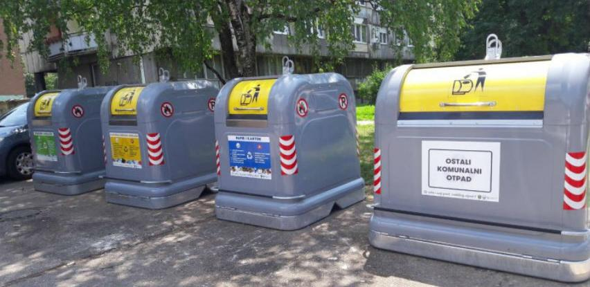 """Postavljanje """"zelenih otoka"""" u Starom Gradu za selektivni otpad"""