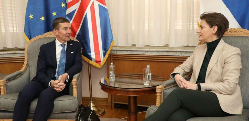 Velika Britanija zainteresirana za izgradnju putne infrastrukture u Srbiji
