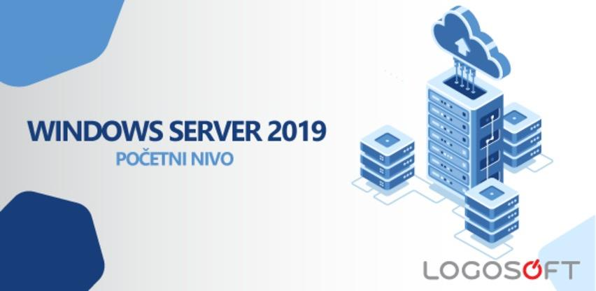 Najava radionice: Windows Server 2019 - početni nivo