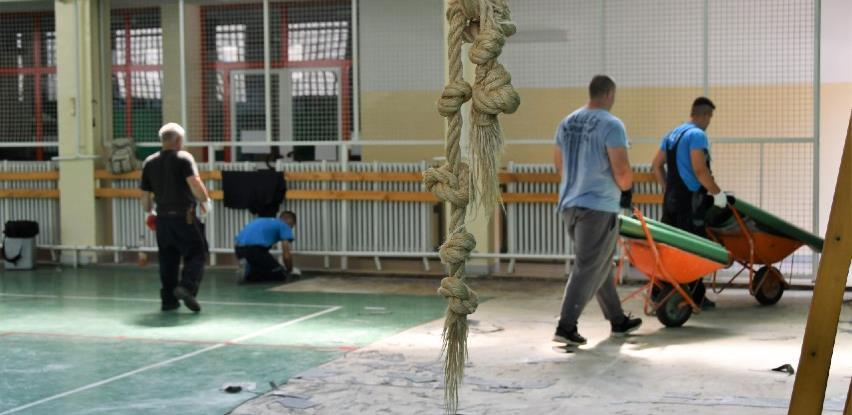 Novo Sarajevo: Adaptacija tri fiskulturne sale u osnovnim školama