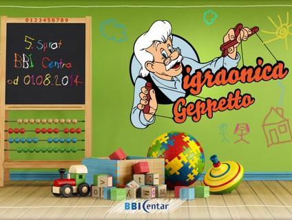 U BBI Centru na 5. spratu otvorena Igraonica Geppetto