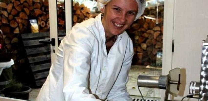 Esma Žuna Zjajo tržište osvježila domaćom tjesteninom s koprivom i gljivama