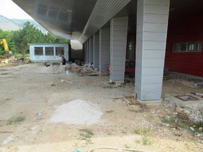 Završni radovi na izgradnji autobuske stanice u Trebinju