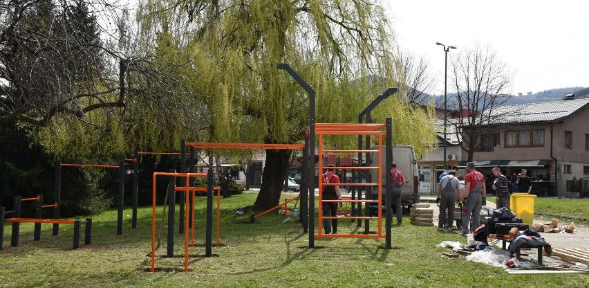 U toku ugradnja sprava za street workout parkove