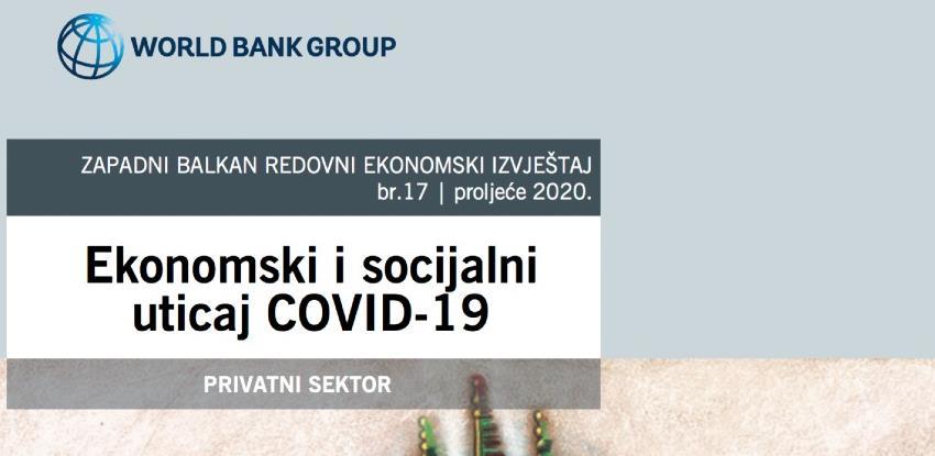 Analiza Svjetske banke: Kako je korona unazadila privatni sektor u BiH