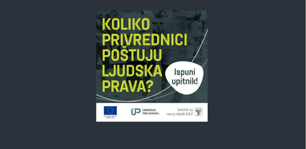 Je li nam važno poštivanje ljudskih prava u privrednom sektoru?