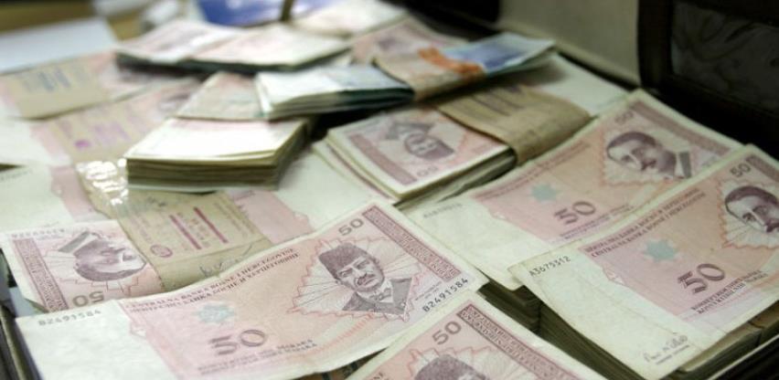 Javni prihodi u FBiH za sedam mjeseci ove godine manji 4,7 posto