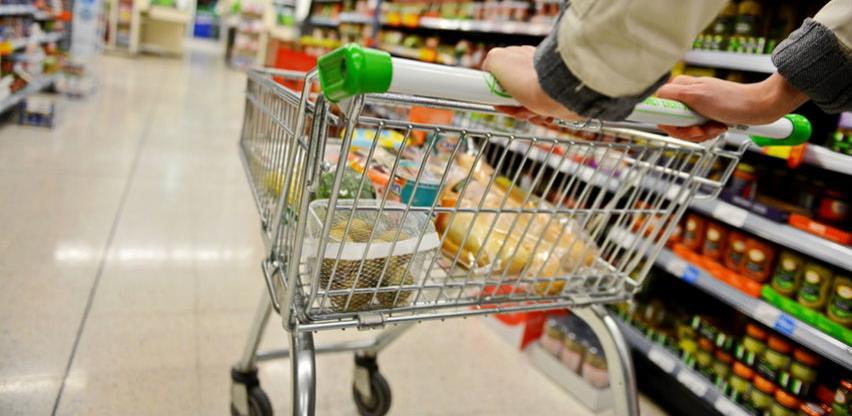 Potrošačke cijene u novembru više za 0,1 posto