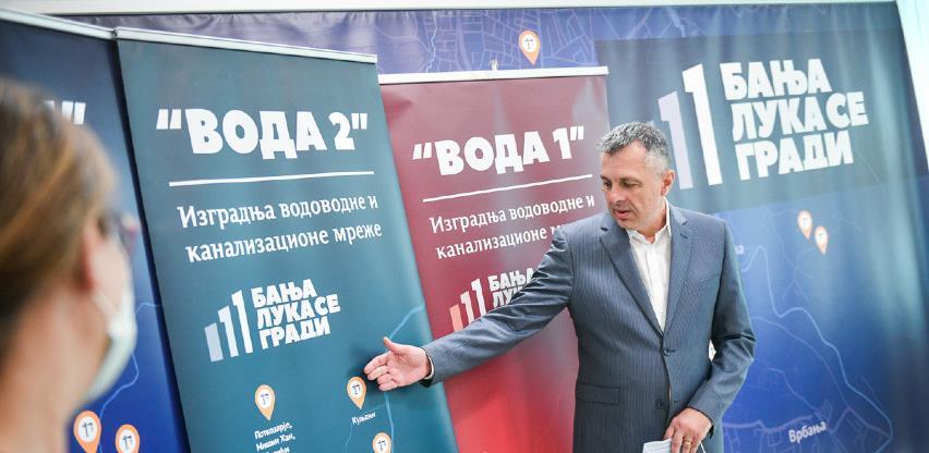 U Banjaluci počinje gradnja 50 kilometara nove vodovodne mreže