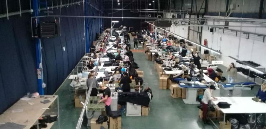 Koteks u Zavidovićima proizveo 40.000 odjevnih predmeta
