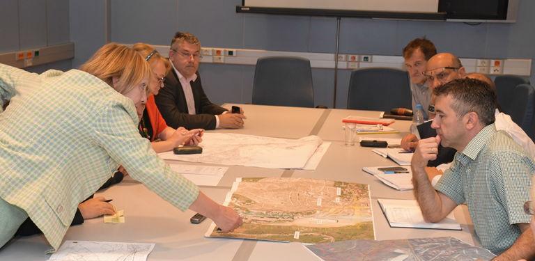Izgradnja kružnih tokova u Centru i Vogošći prioritet za rješavanje gužvi