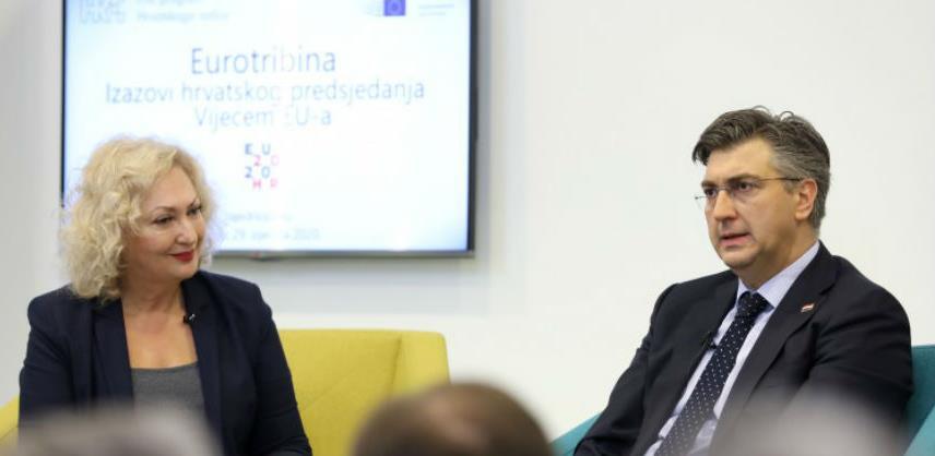 Plenković ocijenio uspješnim prvi mjesec hrvatskog predsjedanja EU-om