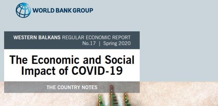 Objavljene bilješke o makroekonomskom utjecaju pandemije na zapadni Balkan