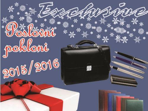 Exclusive doo je i ove godine za Vas pripremio ponudu poklon galanterije