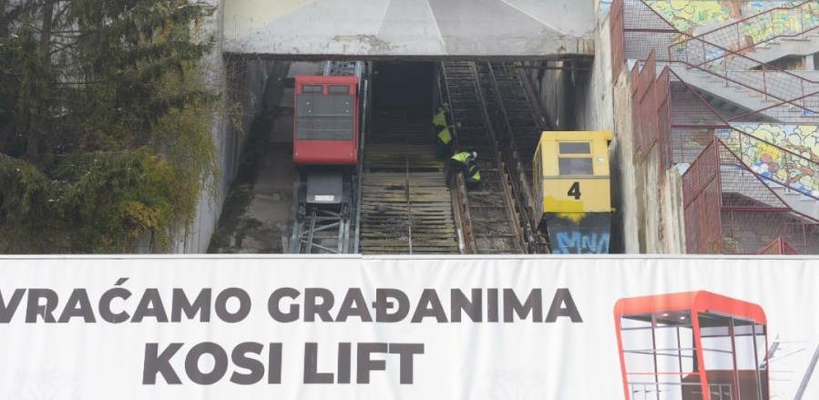 Euro Prost dobio posao: U Sarajevu započela izgradnja druge linije kosog lifta