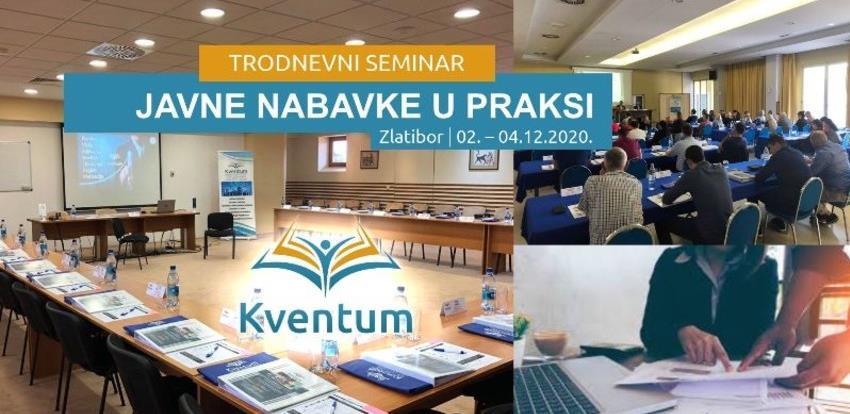 Seminar: Javne nabavke u praksi