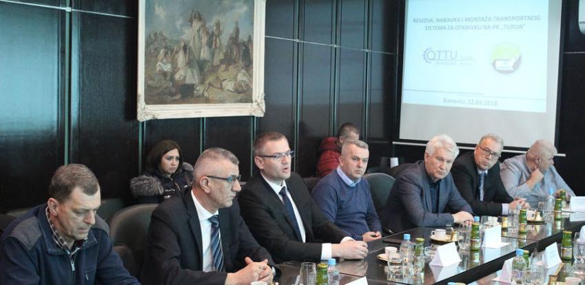 Potpisan ugovor o izgradnji transportnog sistema na PK Turija