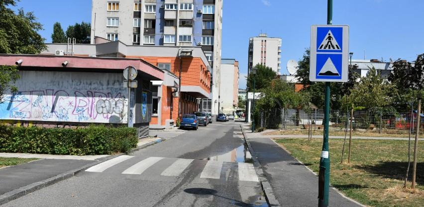 Nova saobraćajna signalizacija u ulici Azize Šaćirbegović