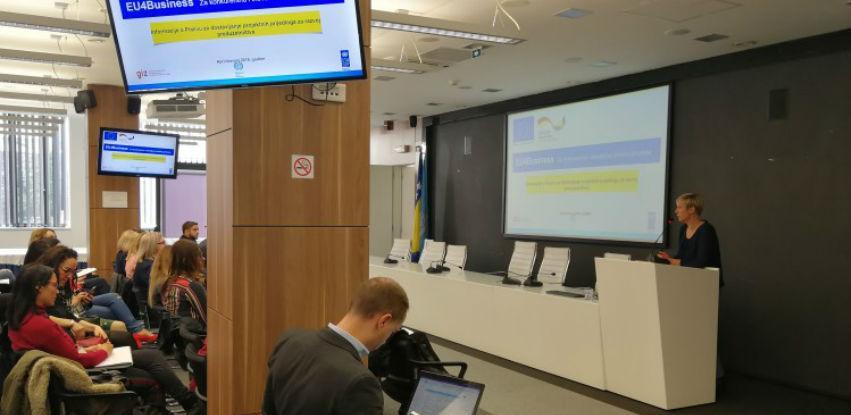U Sarajevu predstavljen poziv za podršku preduzetništvu vrijedan milion eura