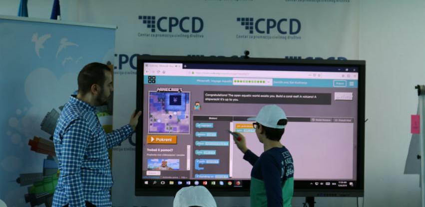 Sedmica informatičke pismenosti obilježena u SMART Resursnom centru CPCD-a