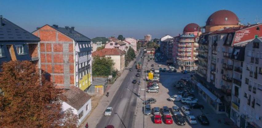 Počeli radovi na proširenju Bulevara mira u Brčkom