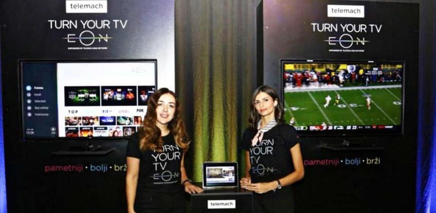 Telemach predstavio EON smart boks – novu eru televizije