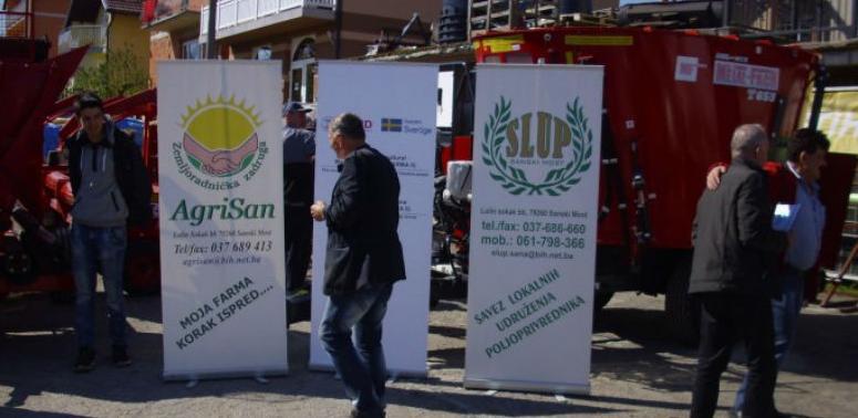 U Sanskom Mostu savez poljoprivrednika proizvodi 6,5 miliona litara mlijeka