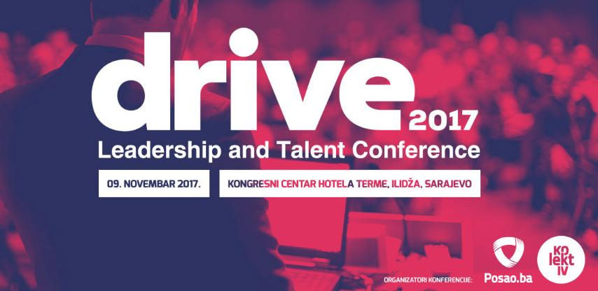 DRIVE 2017: Sutra najveća regionalna Leadership i Talent konferencija