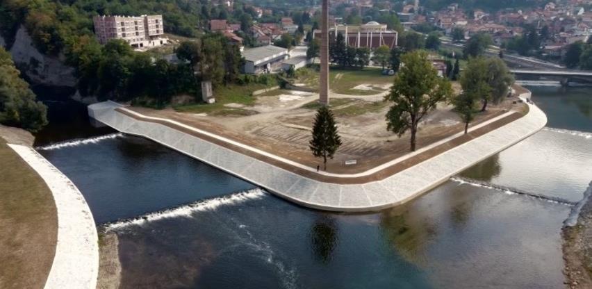 Visoko dobilo novu šetnicu, završeni radovi na ušću rijeka Bosne i Fojnice