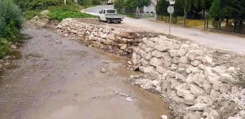 U toku druga faza uređenja obala i korita vodotoka na području Zenice