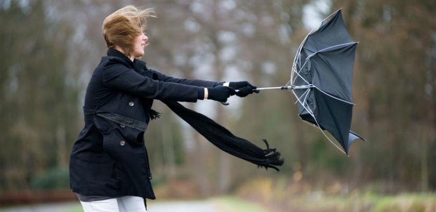 U BiH se očekuje jak olujni vjetar, izdat narandžasti meteoalarm